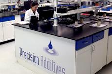Pecision Additives Quality Control Lab