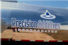 Precision Additives 100 percent On Spec track record